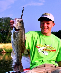 Landon with a sweet Bass