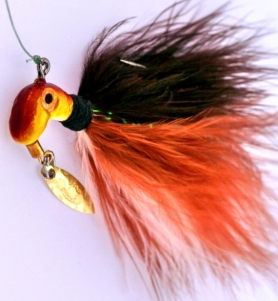 Copper Minnow Color, Road Runner Marabou Pro 2.0