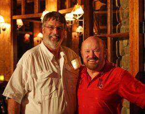 Bob Lusk AKA: The Pond Boss and O'Neill Williams.
