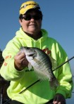 The crappie fishing is excellent.