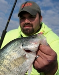 Rodney's Road Runner Crappie on Rend Lake