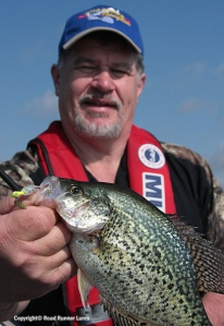 Mike bagged some Crappie too.