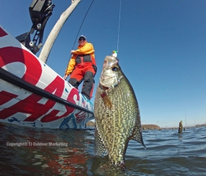 """One poling"" for crappie is a blast."